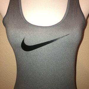 Nike Pro Training Gray Tank Top Women's Small